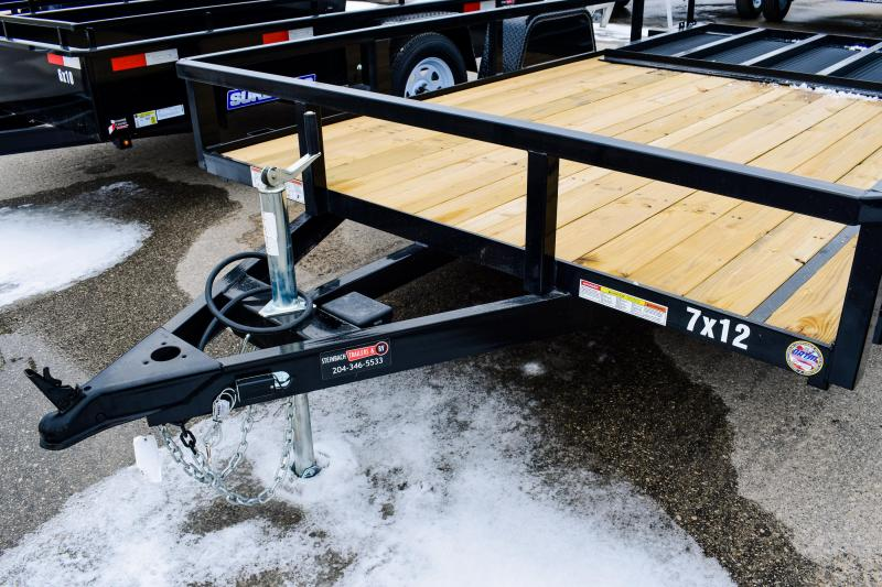 2018 Sure-Trac 7 X 12 Tube Top Utility 5K Brake