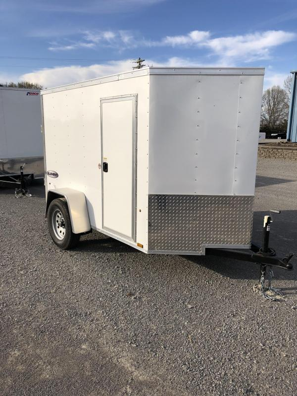 2019 Look 3K 5' X 8' Element VNose Cargo Trailer