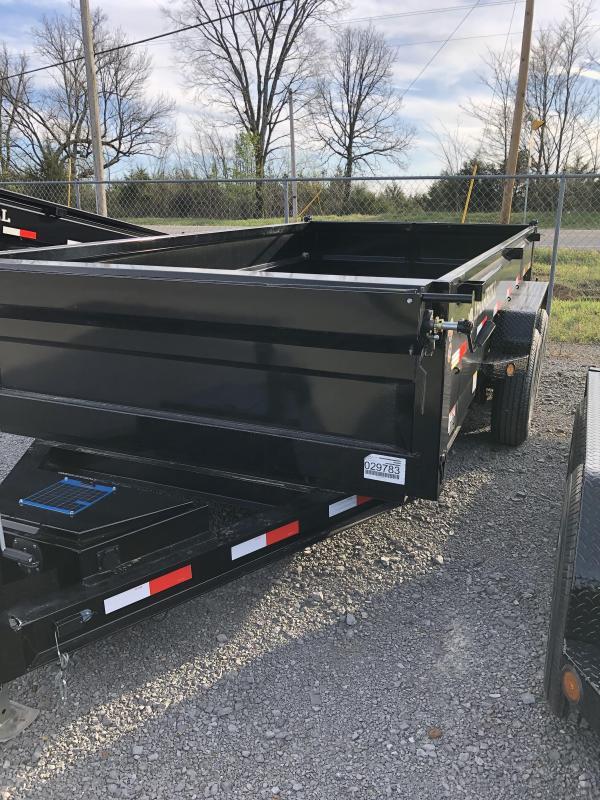 "2019 Iron Bull 7K 83"" x 14' Lo-Pro Dump BP Trailer"