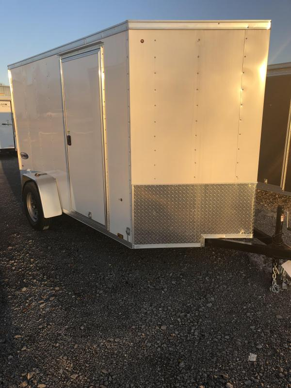 2019 Look 3K 6' x 10' Element VNose Cargo Trailer