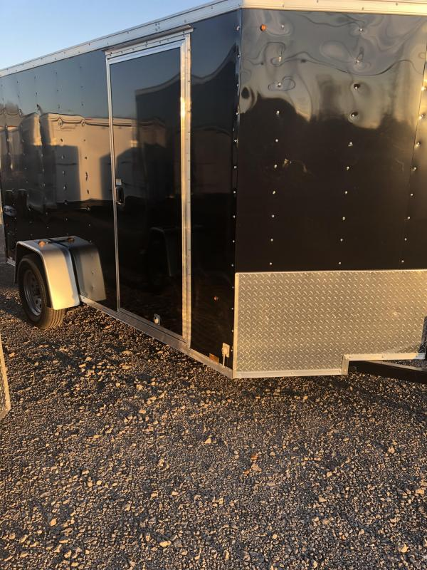 2019 Look Trailers EWLC6X12SI2 Flat Top Enclosed Cargo Trailer