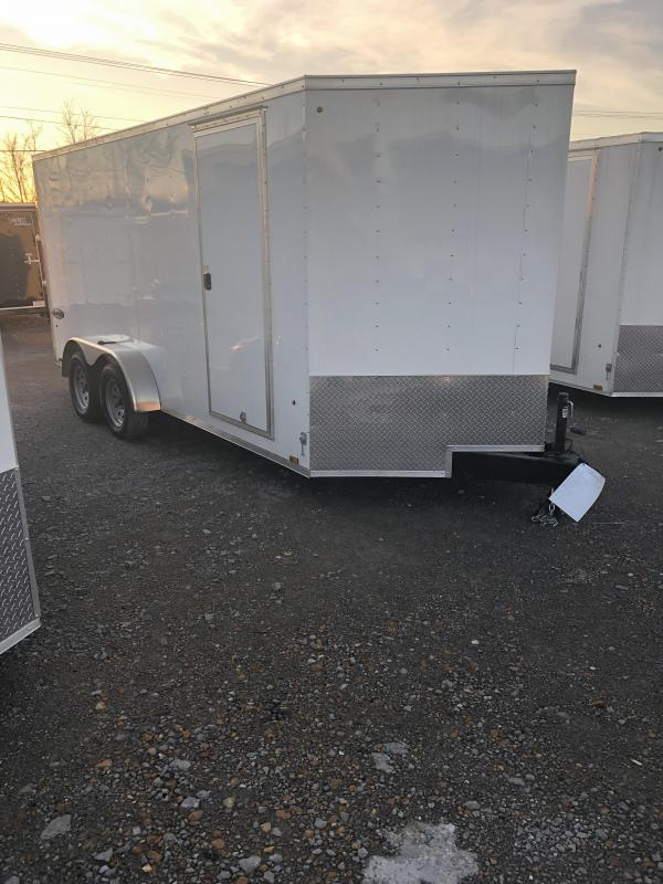 2019 Look 3.5K 7' x 16' Element VNose Cargo Trailer
