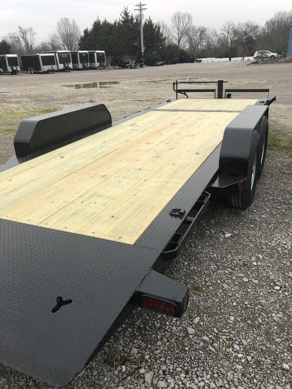 "2019 Iron Bull 7K 83"" x 22' Tilt Low Pro Bumper Pull Equipment Trailer"