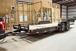 "2018 Iron Bull 7K 83"" x 20' Equipment Trailer Tilt"
