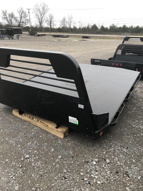 "2019 Norstar SR 9'4"" x 97"" CTA 60"" Diamond Plate Truck Bed"