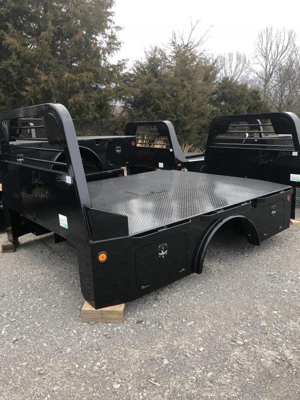"2019 Norstar ST 9'4"" x 97"" CTA 60"" Skirted Truck Bed with Front & Rear Toolboxes"