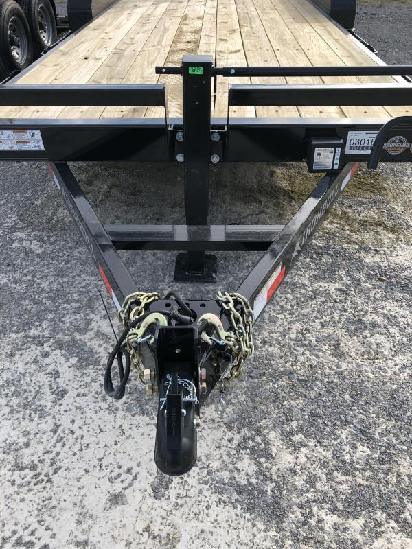 "2019 Iron Bull 7K 83"" x 20' Equipment Trailer"