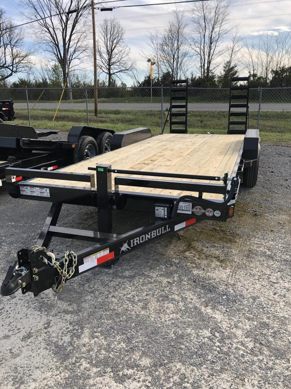 "2019 Iron Bull 7K 83"" x 20' Equipment Trailer"