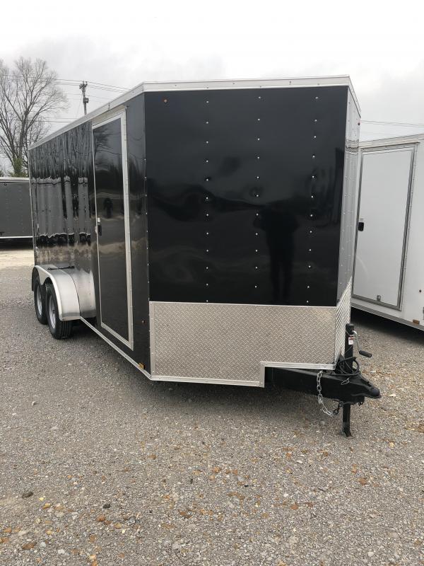 2019 Look 3.5K 7' x 16'  Element VNose Cargo Trailer