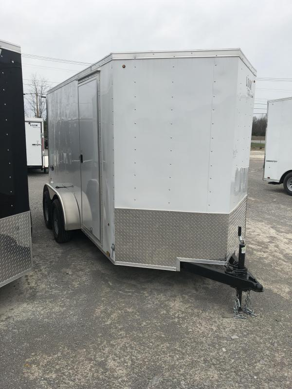 2019 Look 3.5K 6' x 12' Element VNose Cargo Trailer