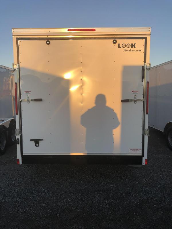 2019 Look 3.5K 7' x 14' Element VNose Cargo Trailer
