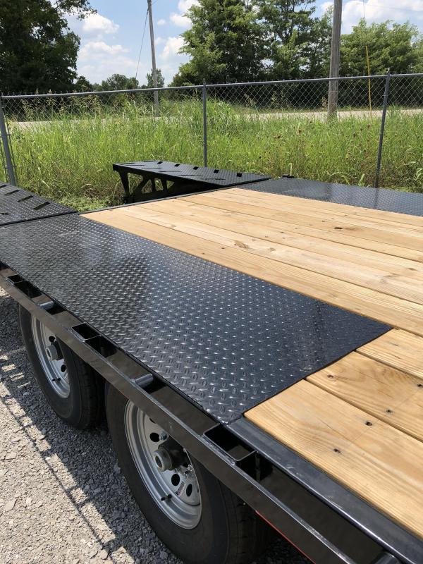 2018 Iron Bull 7K 20' + 5' Equipment Trailer Gooseneck