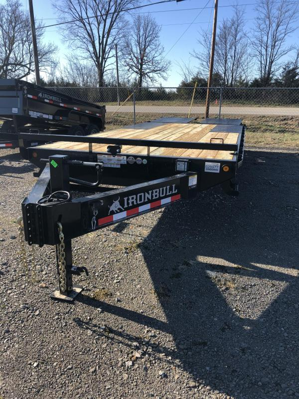 2019 Iron Bull 7K 17' + 5' Pintle Deck Over Trailer