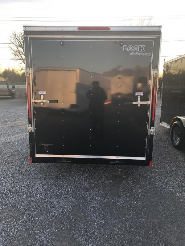 2019 Look Trailers EWLC6X12SI2 Flat Top Enclosed Cargo Trailer