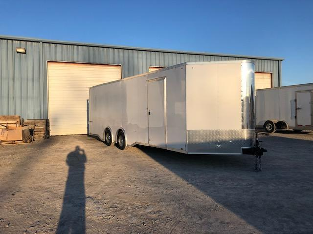 "2019 Pace 5.2K 8'6"" x 24' x 7' Cargo Sport Enclosed Carhauler Trailer"