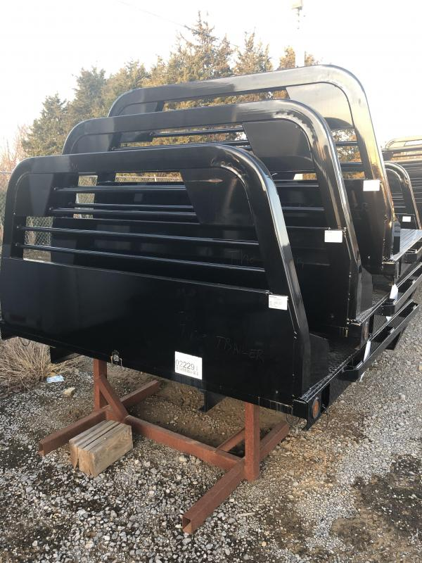 "2018 Norstar SR 84""x84"" CTA 40"" Truck Bed Diamond Plate Bed"