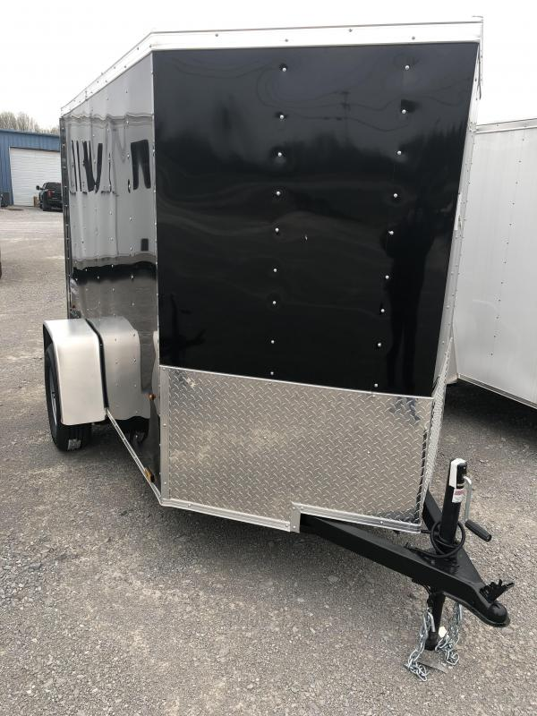 2019 Look 3K 5' x 8' Element Vnose Cargo Trailer