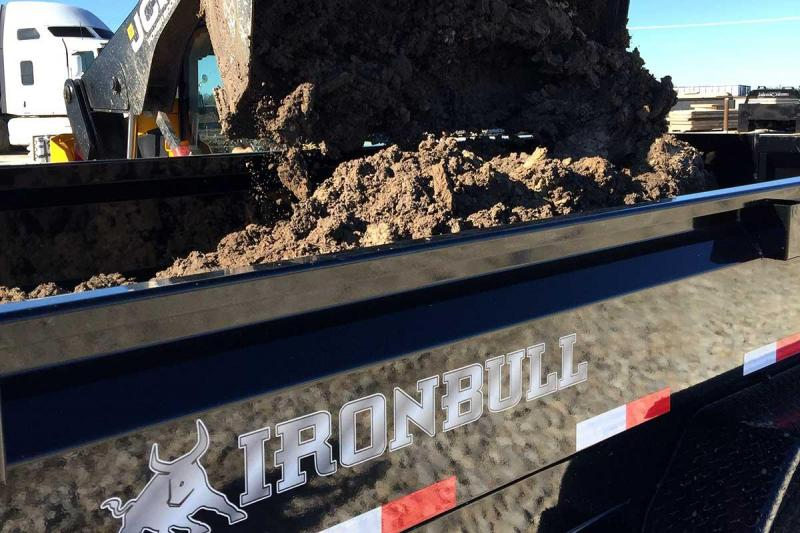2018 Iron Bull DLB7212052 Dump Trailer