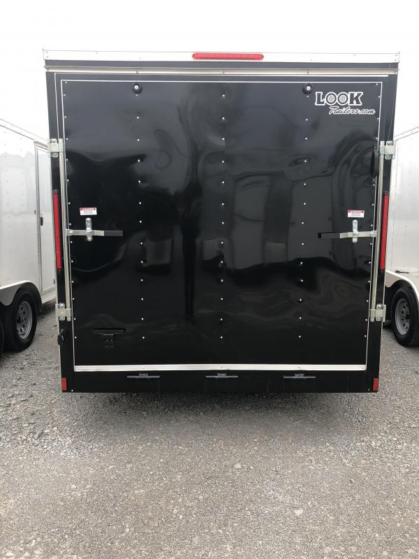 2018 Look 3.5K 7' x 14' Element VNose Cargo Trailer