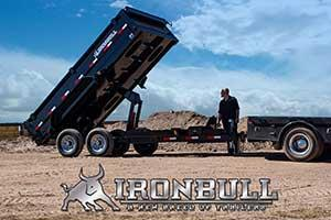 "2018 Iron Bull 7K 83"" x16' Dump Trailer Low Profile"