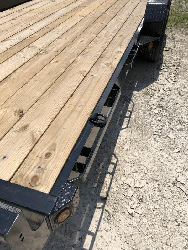 "2018 Iron Bull 5.2K 83"" x 18' Equipment Trailer"