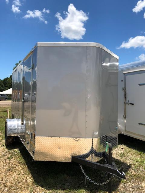 2019 6x12 Continental Cargo Conti Enclosed Cargo Trailer