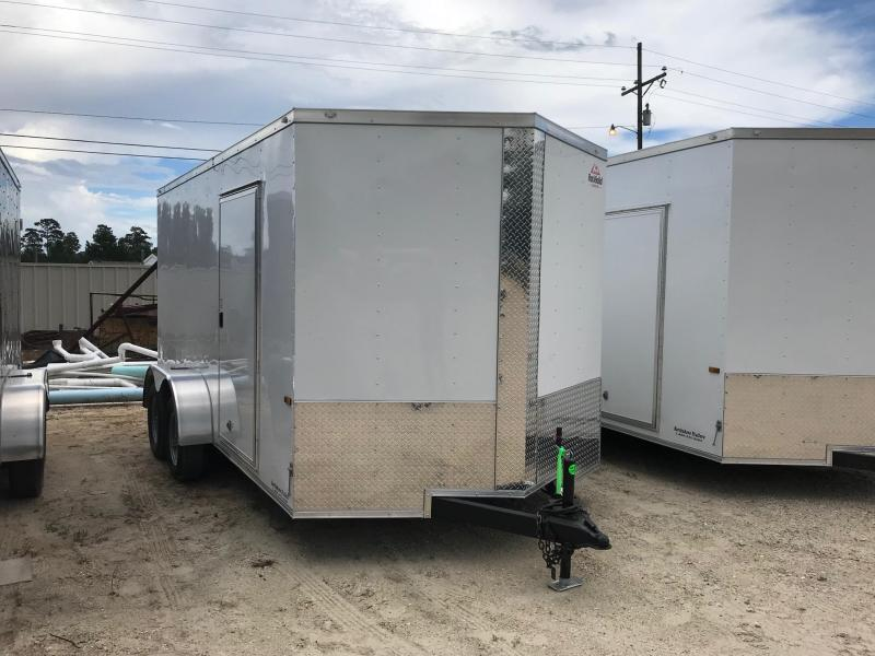 2018 7x14 Rock Solid Cargo TA VN Enclosed Cargo Trailer
