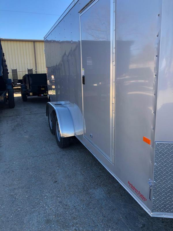 2019 Rock Solid Cargo 16x07 TA Enclosed Cargo Trailer