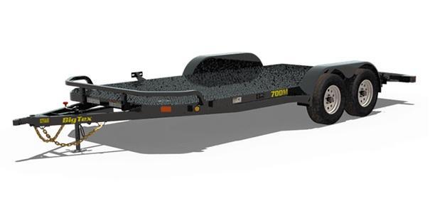 2019 6.10x20 Big Tex Trailers 70DM-20 Car / Racing Trailer