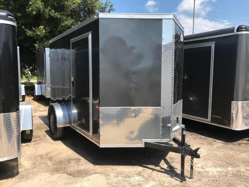 2020 6x10 Rock Solid Cargo SA VN Enclosed Cargo Trailer