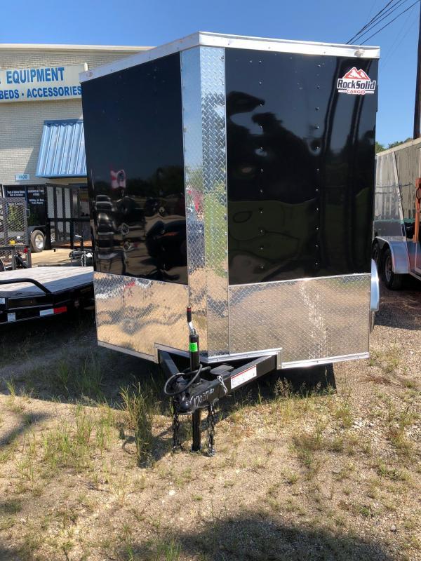 2020 Rock Solid Cargo 12x07 TA Enclosed Cargo Trailer