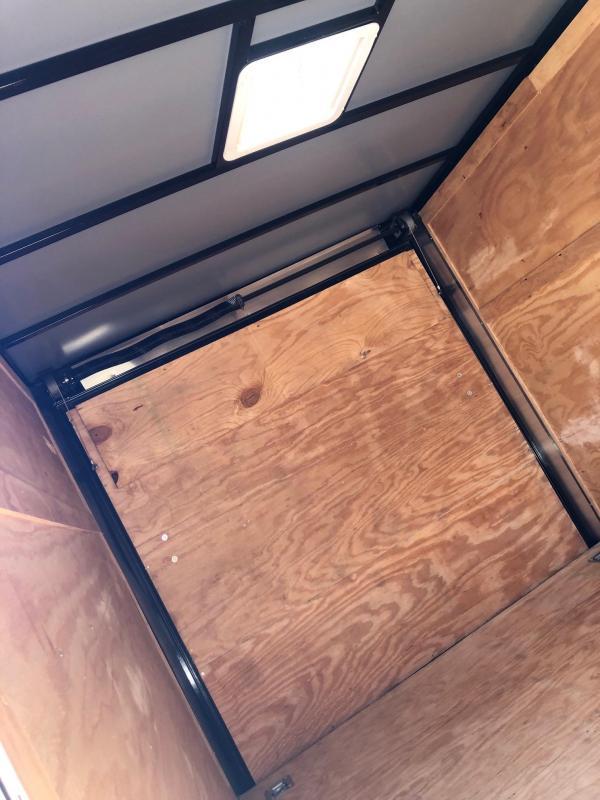 2019 Rock Solid Cargo 12x07 TA Enclosed Cargo Trailer