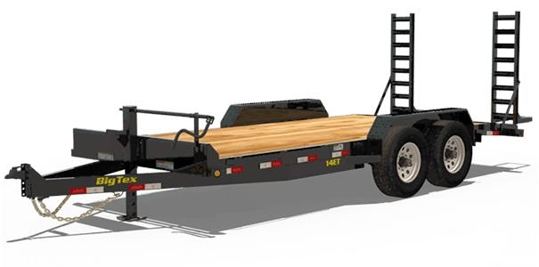 2020 6.10x20 Big Tex Trailers 14ET Equipment Trailer