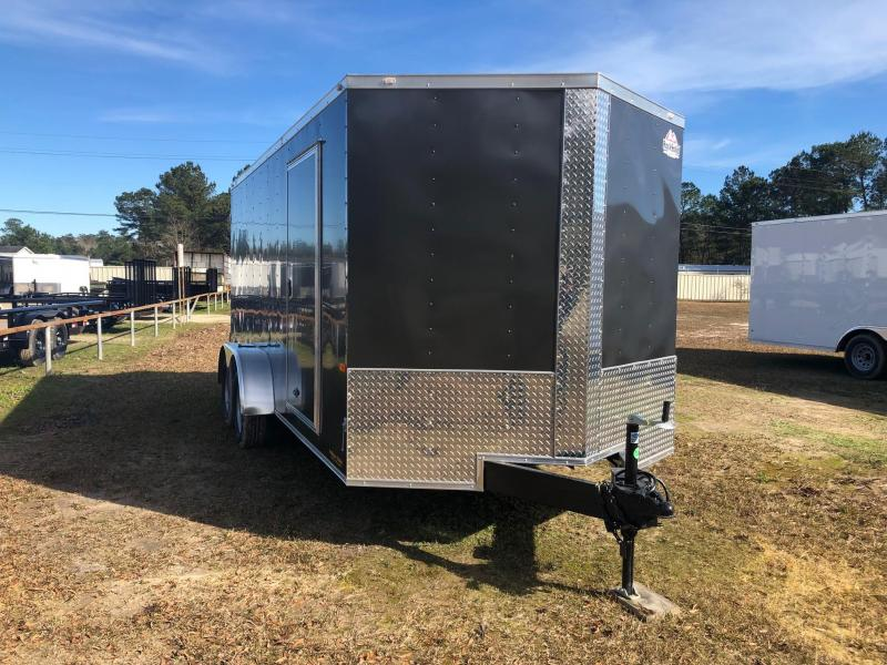 2019 7x16 Rock Solid Cargo TA VN Enclosed Cargo Trailer