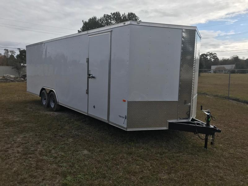 2019 8.5x24 Rock Solid Cargo TA VN Enclosed Cargo Trailer