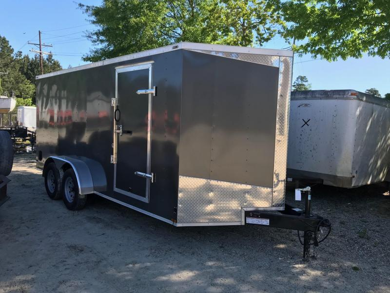 2019 7x16 Lark Victory VN Enclosed Cargo Trailer