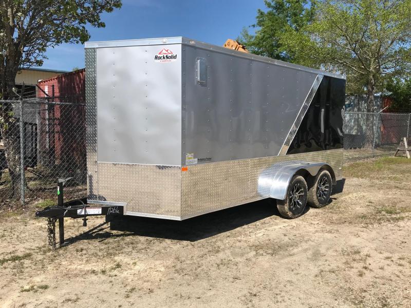 2019 7x14 Rock Solid Cargo SA VN Enclosed Cargo Trailer