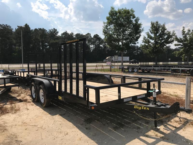 2018 6.10x16 Big Tex Trailers 70PI-16-ATV Trailer