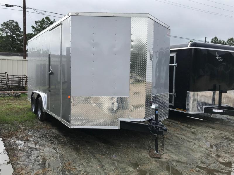 2019 8x16 Rock Solid Cargo TA VN Enclosed Cargo Trailer