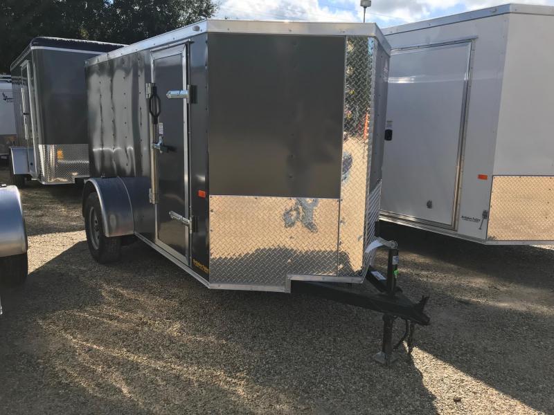 2019 5x10 Rock Solid Cargo SA VN Enclosed Cargo Trailer
