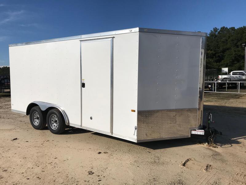 2019 8x16 Rock Solid Cargo TA VN Enclosed Cargo Trailer