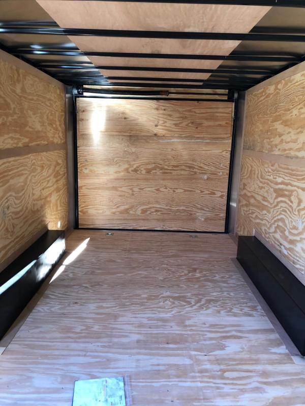 2019 Continental Cargo 16x08.05 TA Enclosed Cargo Trailer
