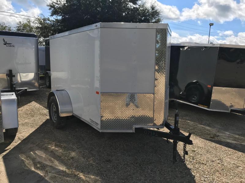 2019 5x8 Rock Solid Cargo SA VN Enclosed Cargo Trailer