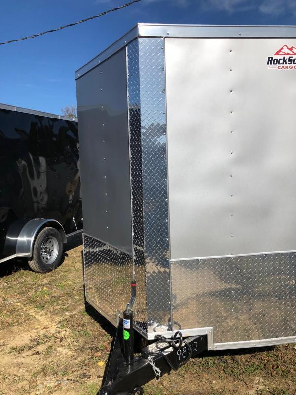 2019 Rock Solid Cargo 12x06 TA Enclosed Cargo Trailer