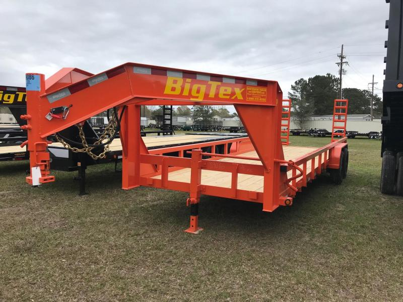 2019 6.10x24 Big Tex Trailers 14GP-24 Equipment Trailer