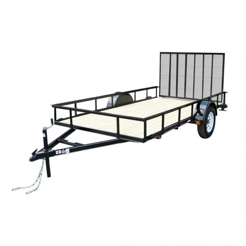 2019 Carry-On 6.4x12GW Utility Trailer