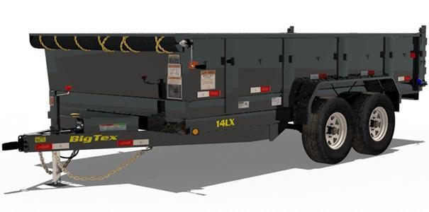 2020 7x12 Big Tex Trailers 14LX-12 Dump Trailer