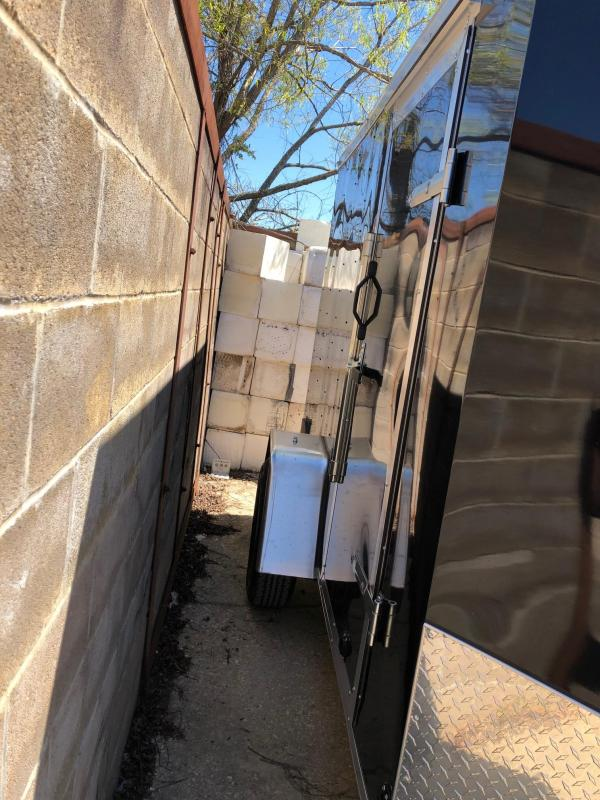 2019 6x10 Lark SA Enclosed Cargo Trailer