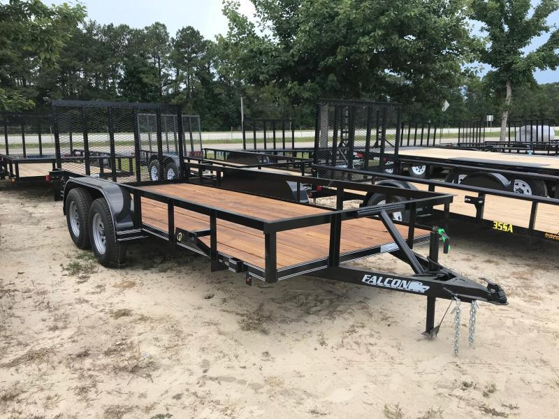 2018 6.5x16 Falcon Std Duty Utility Trailer