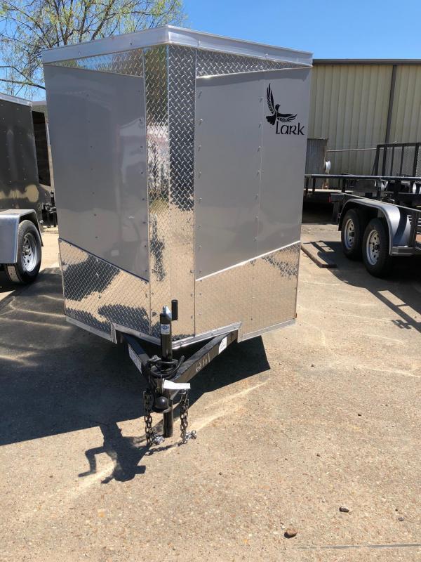 2019 5x10 Lark SA Enclosed Cargo Trailer